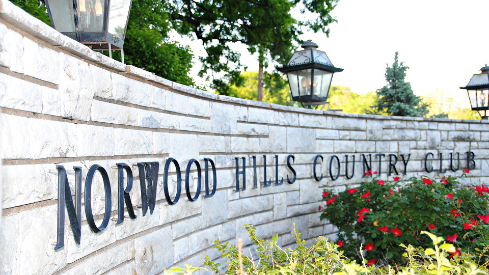 Norwood Hills Front Sign